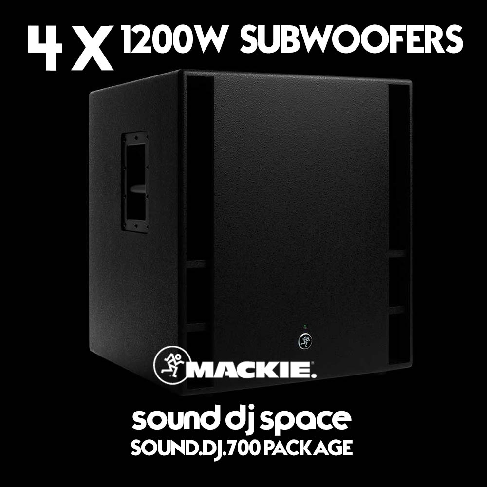 sound Dj 700 Package subwoofer